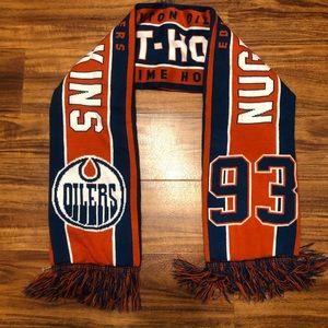 Oilers #93 Ryan Nugent-Hopkins Scarf